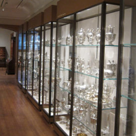Wall Mounted Display Cases